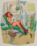 Other, Dink Siegel (American, 1910-2003). You Were Right Dr. Whitcom - I Didn't Feel A Thing, Playboy cartoon, September 1975. ...