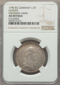 German States:Saxony, German States: Saxony. Pair of Certified Friedrich August III 1/3 Talers NGC,... (Total: 2 coins)