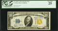 Small Size:World War II Emergency Notes, Fr. 2309* $10 1934A North Africa Silver Certificate Star. PCGS Very Fine 25.. ...