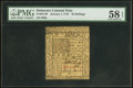 Colonial Notes:Delaware, Delaware January 1, 1776 20s PMG Choice About Unc 58 EPQ.. ...
