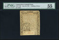 Colonial Notes:Connecticut, Connecticut June 19, 1776 1s 6d PMG About Uncirculated 55.. ...