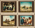 "Movie Posters:Western, The Searchers (Warner Brothers, 1956). Lobby Cards (4) (11"" X 14"").Western.. ... (Total: 4 Items)"