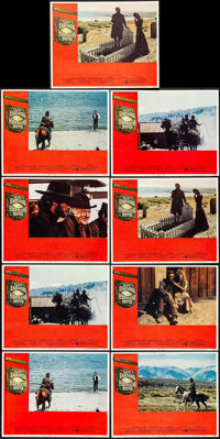 "High Plains Drifter (Universal, 1973). Lobby Cards (9) (11"" X 14""). Western. ... (Total: 9 Items)"