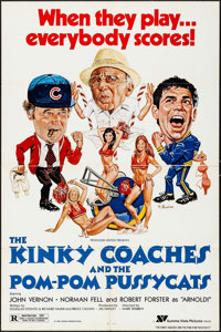 "The Kinky Coaches and the Pom-Pom Pussycats & Other Lot (Summa Vista, 1981). One Sheets (2) (27"" X 41"") Ro..."