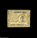 Continental Currency May 10, 1775 $3 Choice About New. A very pretty example from this first Continental issue. The note...