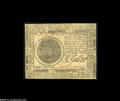 Continental Currency November 29, 1775 $7 New. A very light center fold away from the Choice New grade