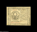 Colonial Notes:Continental Congress Issues, Continental Currency November 2, 1776 $30 Choice About New. Thisnote has the visual impact of a perfect Gem, and minus its ...