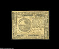 Colonial Notes:Continental Congress Issues, Continental Currency February 26, 1777 $6 Extremely Fine-About New.A lovely example for the grade with bold signatures and ...
