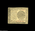 Colonial Notes:Continental Congress Issues, Continental Currency September 26, 1778 $60 About New. A boldlysigned, bright, fresh example with unusually good margins on...