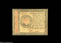 Colonial Notes:Continental Congress Issues, Continental Currency January 14, 1779 $70 New. The note gives theappearence of a Gem but there has been a little minor repa...
