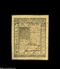 Colonial Notes:Delaware, Delaware January 1, 1776 5s Superb Gem New. A simply magnificentexample, which is ideally centered on both sides between hu...