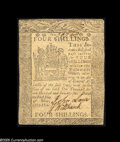 Colonial Notes:Delaware, Delaware May 1, 1777 4s About New. Pretty much no margins atall....