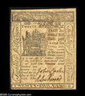 Colonial Notes:Delaware, Delaware May 1, 1777 20s About New. There are two minor stainedareas on the face on this otherwise very nice example of thi...