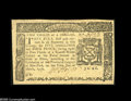 Colonial Notes:New York, New York March 5, 1776 $2/3 About New. Beautifully margined,sharply printed and with the eye appeal of a Gem New example. T...