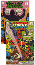 Silver Age (1956-1969):Superhero, Justice League of America #64 and 65 Group (DC, 1968) Condition:Average VF.... (Total: 2 Comic Books)