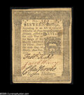 Colonial Notes:Pennsylvania, Pennsylvania March 20, 1773 16s Extremely Fine. A delightful,lightly circulated example of this popular design type with a...