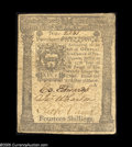 Colonial Notes:Pennsylvania, Pennsylvania March 25, 1775 14s Very Fine-Extremely Fine. A niceexample of what we have always found to be a rather underra...