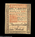 Colonial Notes:Pennsylvania, Pennsylvania April 10, 1775 L5 Superb Gem New. A beautiful exampleof a very popular and rather scarce issue. This issue, w...