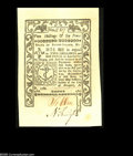 Colonial Notes:Rhode Island, Rhode Island May 1786 2s/6d Superb Gem New. Bright, fresh, originaland simply perfect, with jumbo margins to go along with ...