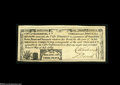 Colonial Notes:South Carolina, South Carolina City of Charleston July 6, 1789 1s3d Choice About New. A fully signed example, with huge margins, strong sign...