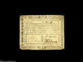 Colonial Notes:Virginia, Virginia March 1, 1781 $750 Extremely Fine. This is the thickerpaper issue and its an unusually example of the type with th...