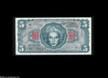 Military Payment Certificates:Series 641, Series 641 $5 Gem New. This $5 with acute corners is from near theend of the third printing....
