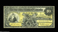 Canadian Currency: , Toronto, ON- Sterling Bank of Canada $10 Apr. 25 1906 Charlton 700-10-04 This $10 was able to avoid pinholes and edge tears...