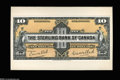 Canadian Currency: , Toronto, ON- Sterling Bank of Canada $10 Jan. 3, 1921 CharltonUnlisted (700-14-02P) Face Proof This unlisted proof has the...