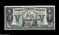 Canadian Currency: , Montreal, PQ- Banque Canadienne Nationale $5 Feb. 1, 1925 Ch.85-10-02 A second example just a few serials from the note ab...