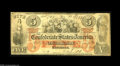 Confederate Notes:1861 Issues, T31 $5 1861. The orange tint makes this scarce note even more popular, with this example having wholesome edges. Very Good...