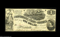 Confederate Notes:1862 Issues, T44 $1 1862. This issue is seldom found so nice, with this exampledisplaying just a little handling. About Uncirculated. ...