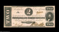 Confederate Notes:1862 Issues, T54 $2 1862. This is a 1st Series Deuce. Very Fine....