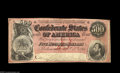 Confederate Notes:1864 Issues, T64 $500 1864. A dark red color T-64 in nice grade. Very Fine+....