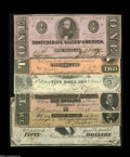 Confederate Notes:Group Lots, Nice Confederate Grouping, including T36 VF-XF; T62 Choice AU; T66Choice AU; T67 CU; T68 Choice CU; and... (6 notes)
