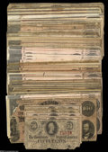 Confederate Notes:Group Lots, Rebel Money, including T-63 50¢ 1863 three examples; T-65 $100 1864two examples; T-67 $20 1864 nine examples; T-68 $10 1864... (49notes)