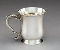 Silver & Vertu:Hollowware, A George II Silver Cup, London, 1767. Marks: (partially effaced), (lion passant), (leopard's head crowned), (date mark) . 3-...