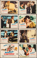"Movie Posters:Action, The Silencers (Columbia, 1966). Lobby Card Set of 8 (11"" X 14""). Action.. ... (Total: 8 Items)"