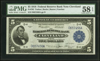 Fr. 785 $5 1918 Federal Reserve Bank Note PMG Choice About Unc 58 EPQ