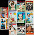 Baseball Cards:Lots, 1960's - 1980's Baseball Hall of famers Card Collection (11) WithRookies. ... (Total: 11 items)
