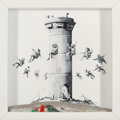 Prints & Multiples, Banksy X The Walled Off Hotel . Walled Off Hotel Box, 2017. Lithograph with concrete. 10 x 10 x 2 inches (25.4 x 25.4 x ...