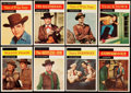 Non-Sport Cards:Sets, 1958 Topps Western TV Complete Set (71). ...