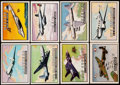 Non-Sport Cards:Sets, 1952 Wings Trading Card Complete Set (200). ...