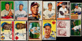 Baseball Cards:Lots, 1941-1966 Topps, Bowman And Other Brooklyn Dodger Collection (91)....