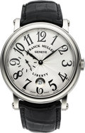 Timepieces:Wristwatch, Franck Muller Liberty Stainless Steel Men's Wristwatch Ref 74211 S9DT. ...