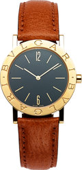 Timepieces:Wristwatch, Bulgari BB 33 GL Gold Wristwatch, Quartz. ...