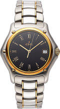Timepieces:Wristwatch, Ebel Men's Ref 1911 Two Tone, circa 2005. ...