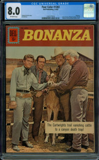 Four Color #1283 (Dell, 1962) CGC VF 8.0 OFF-WHITE pages