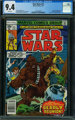 Star Wars #13 (Marvel, 1978) CGC NM 9.4 WHITE pages