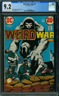 Weird War Tales #8 (DC, 1972) CGC NM- 9.2 OFF-WHITE TO WHITE pages