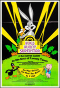 """Movie Posters:Animation, Bugs Bunny Superstar (Hare-Raising Films, 1976). One Sheet (25"""" X 36""""). Animation.. ..."""